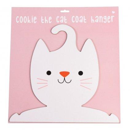 Věšák do dětského pokoje ve tvaru kočky Cookie The Cat