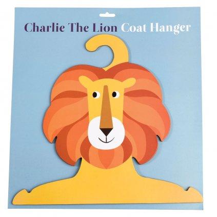 Věšák do dětského pokoje ve tvaru lva Charlie The Lion