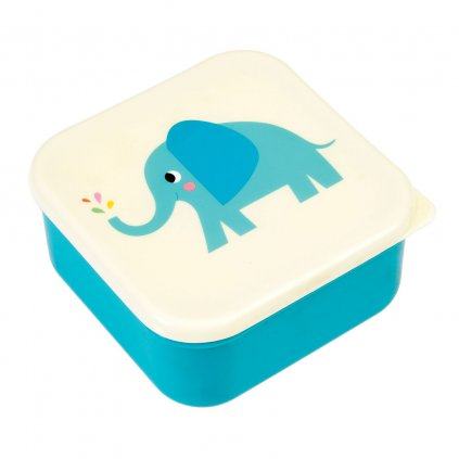 Sada 3 svačinových boxů se slony Elvis The Elephant