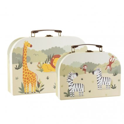 GIF097 A Savannah Safari Suitcases Set of 2 Primary