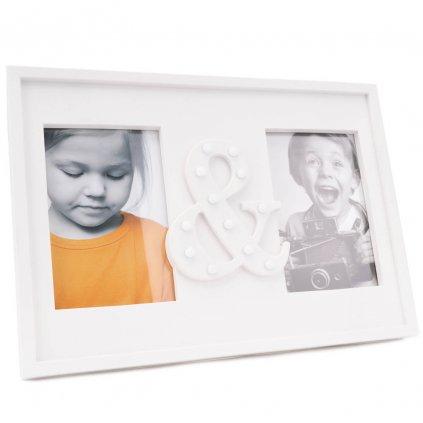 276 svitici fotoramecek na stul na dve fotky