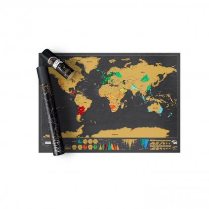 SCRATCH MAP DELUXE EDITION 5
