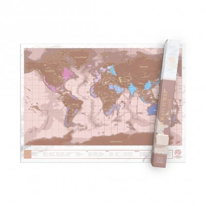 SCRATCH MAP ROSE GOLD 02
