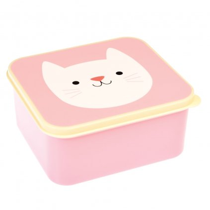 4856 2 4856 1 ruzovy svacinovy box s motivem kocky cookie the cat