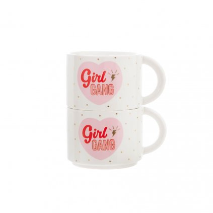 XDC331 A GirlPower StackingMugs GirlGang Front