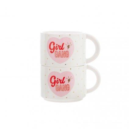 XDC331 A GirlPower StackingMugs GirlGang Front