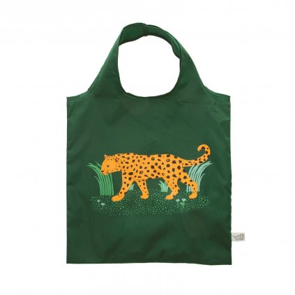 5021 3 val057 a leopard love folable shopping bag front