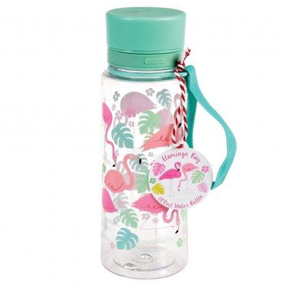 5207 2 5207 1 lahev na vodu s motivem plamenaku flamingo bay 600ml