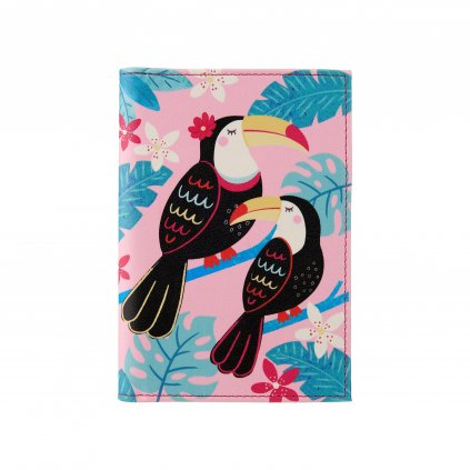 FRAN100 A Toucan Passport Holder Front