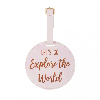 5333 4 fran114 a world explorer luggage tag front