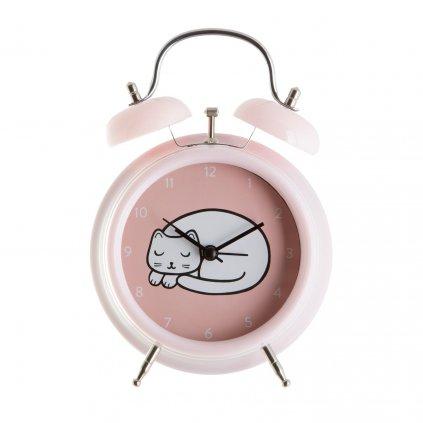 CLOCK001 A CutieCat AlarmClock Front