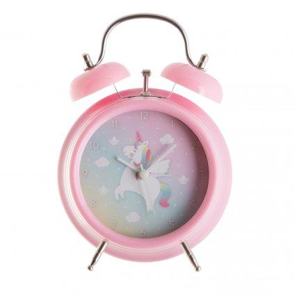 5375 5 clock003 a rainbowunicorn alarmclock front
