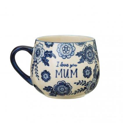 IRIS033 Blue Willow Mum Mug A