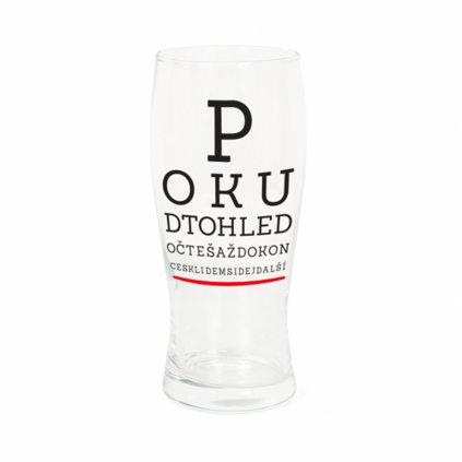 sklenice pullitr ocni test
