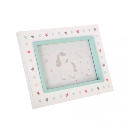LDW182 B DreamingUnicorn PhotoFrame Side
