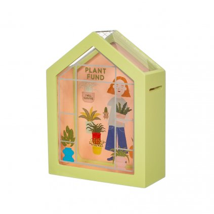 AD232 B Greenhouse Plant Fund Money Box