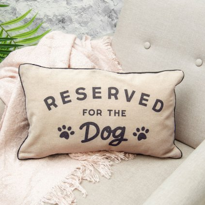 Reserved For Dog Cushion Square