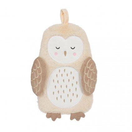 BRU016 A Olivia Owl Hot Water Bottle