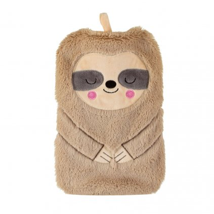 BRU001 A Sloth Hot Water Bottle Front