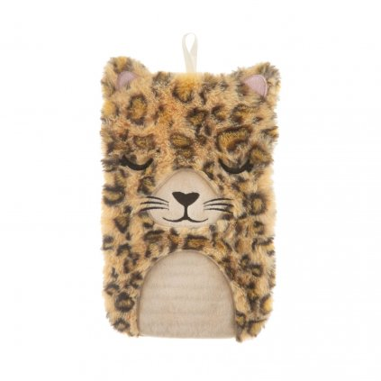 BRU003 A Leopard Love Hot Water Bottle