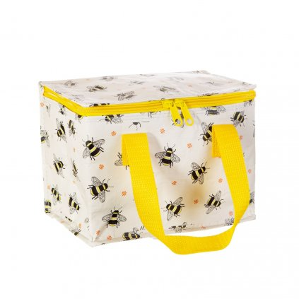 TOTE105 B Hppy Bees Lunch Bag Side