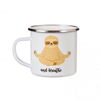 ZIP054 A Sloth Breathe Mug
