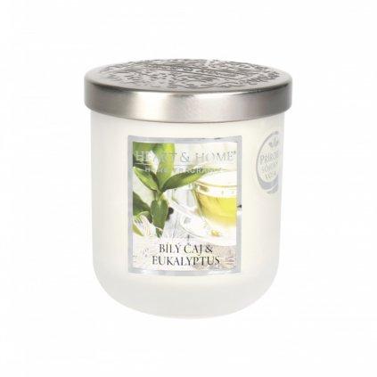 Střední svíčka Bílý čaj & Eukalyptus 110g