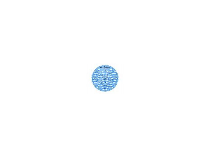 FRE-PRO Wave - vonné pisoárové sítko - modrá - květ bavlny