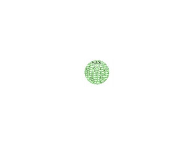 FRE-PRO Wave - vonné pisoárové sítko - zelená - okurka a meloun
