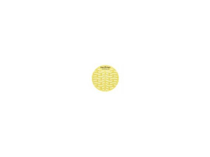 FRE-PRO Wave - vonné pisoárové sítko - žlutá - citrus