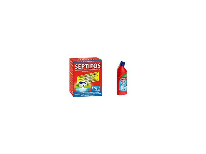 AKCE - Septifos 1,2 kg + WC gel 750 ml