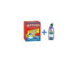 Septifos 1,2 kg + WC gel Frosch Levandule