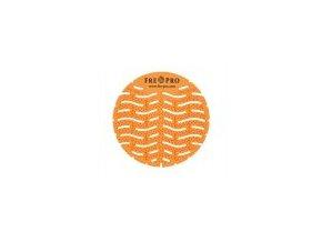 FRE-PRO Wave - vonné pisoárové sítko - oranžová - mango