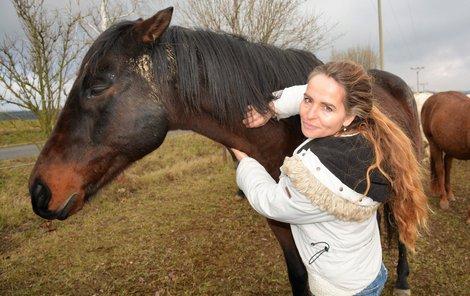Aha! - Patricie Pitříková (45) pečuje o staré, nemocné nebo týrané koně.