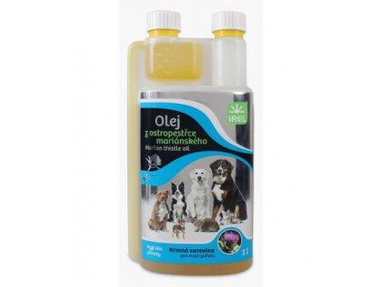 irel ostropestrecovy olej 1l
