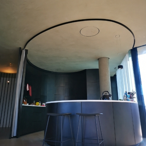 Betoncem system + Monofloor - různé imitace betonu