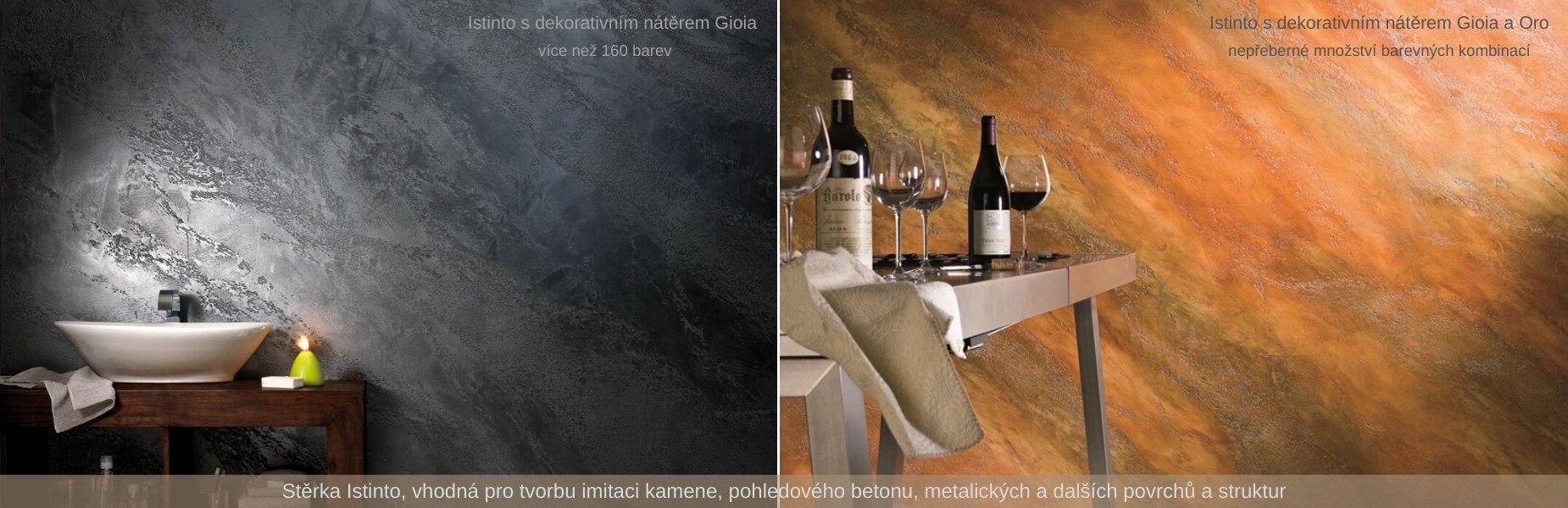 Istinto - imitace kamene a betonu