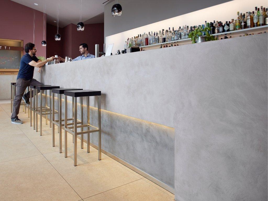 imitace betonu stena