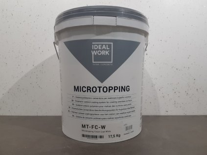 microtopping finish coat