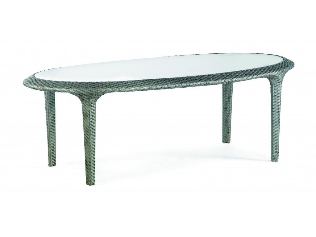 Sullivan Island Oval Dining Table 220x110 Pale Gold 6x1.6 0325