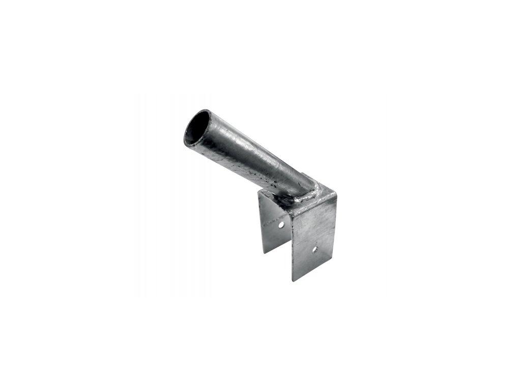Držák na podhrabovou desku pro vzpěry průměr 38mm - Zn