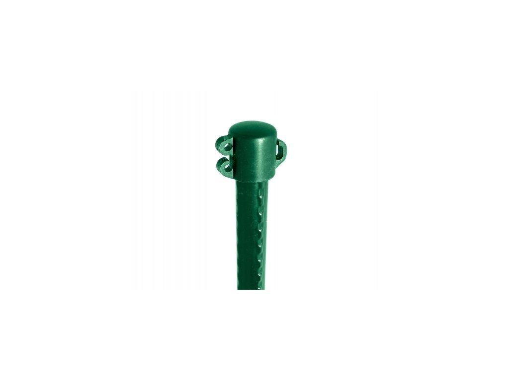 Sloupek dekorační ZELENÝ (FE+PVC) - 100 cm