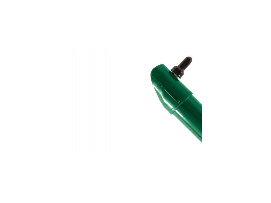 Plotová vzpěra ZELENÁ (ZN+PVC) - 1750/38 mm