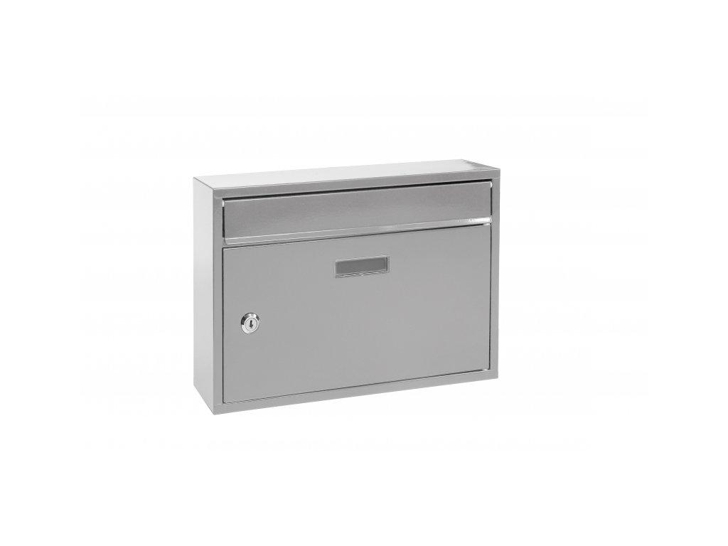 Poštovní schránka BK22.S - stříbrná