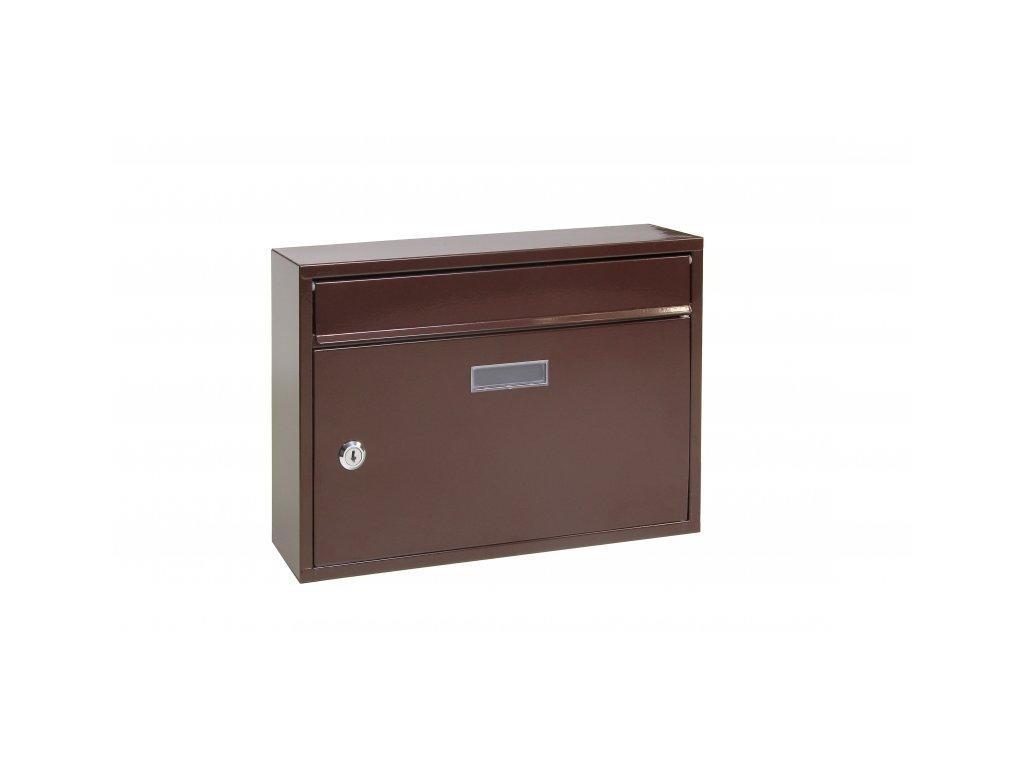 Poštovní schránka BK22.H - hnědá