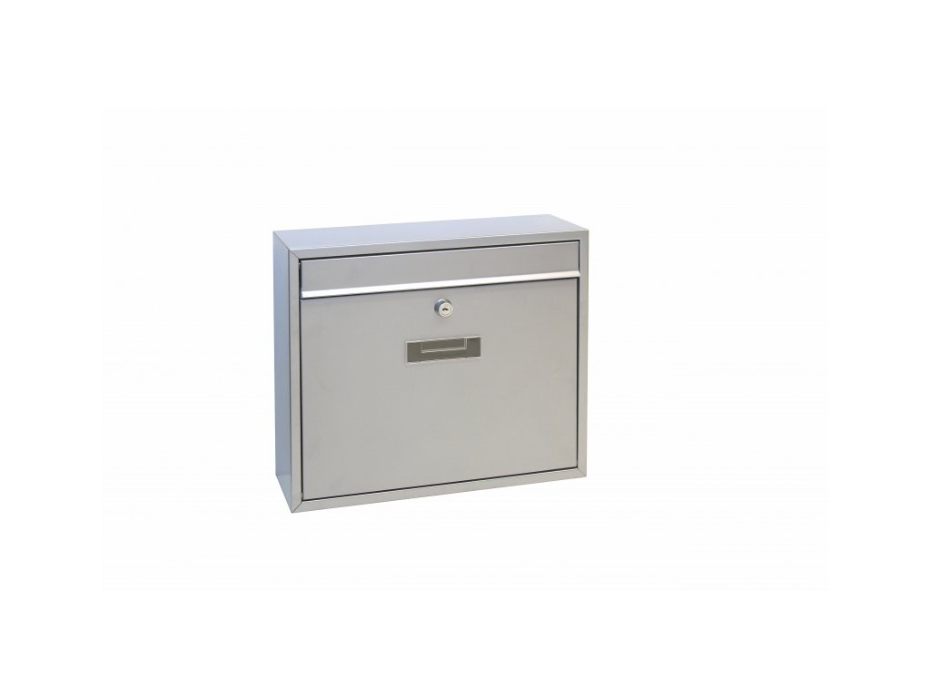 Poštovní schránka Richter BK31.S - stříbrná