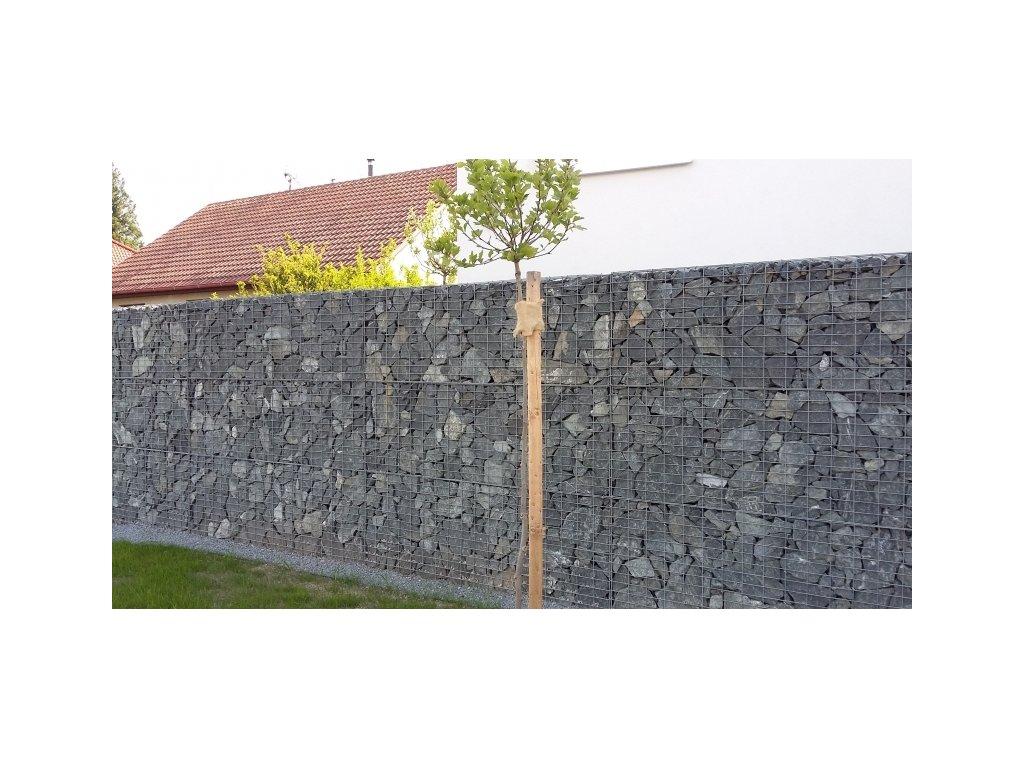 GABIONOVÁ STĚNA 10x5 cm