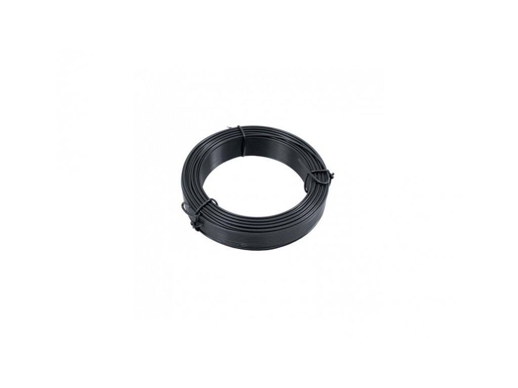 Vázací drát Zn + PVC 1,4/2,0 - 50m, antracit