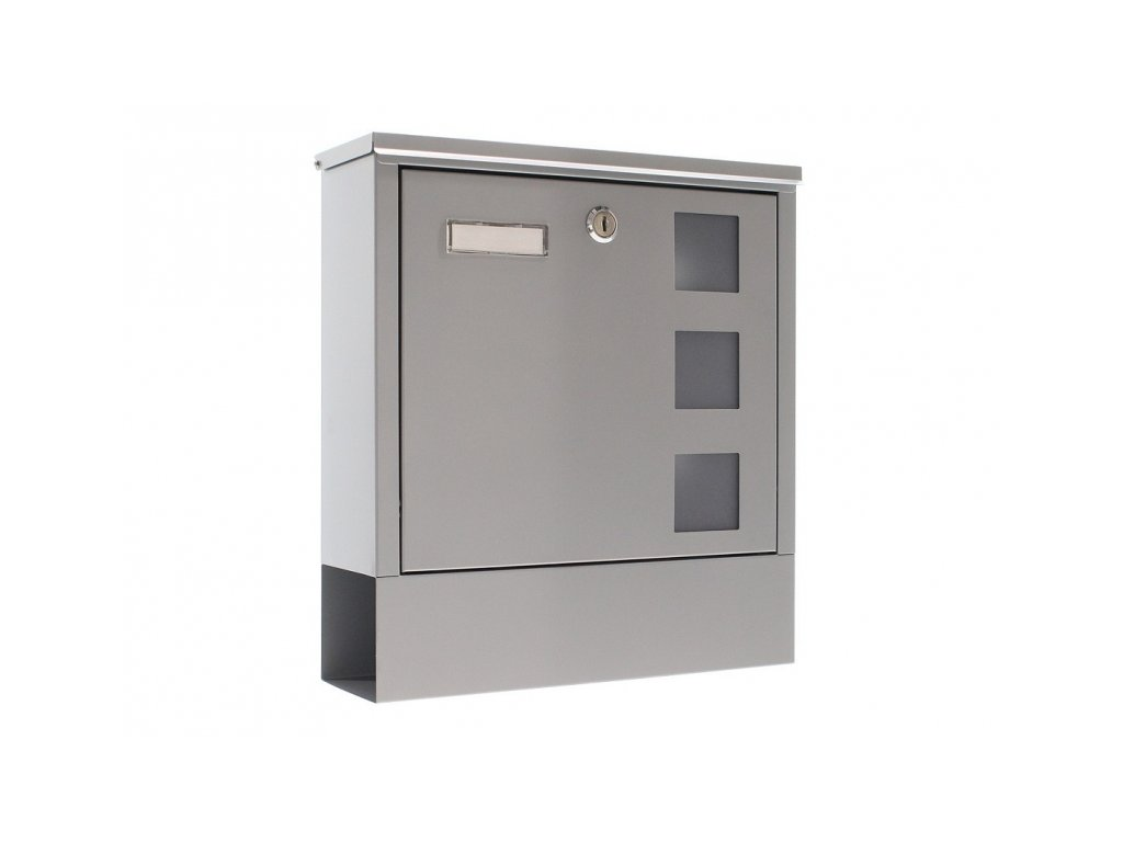 Rottner poštovní schránka LAGO stříbrná