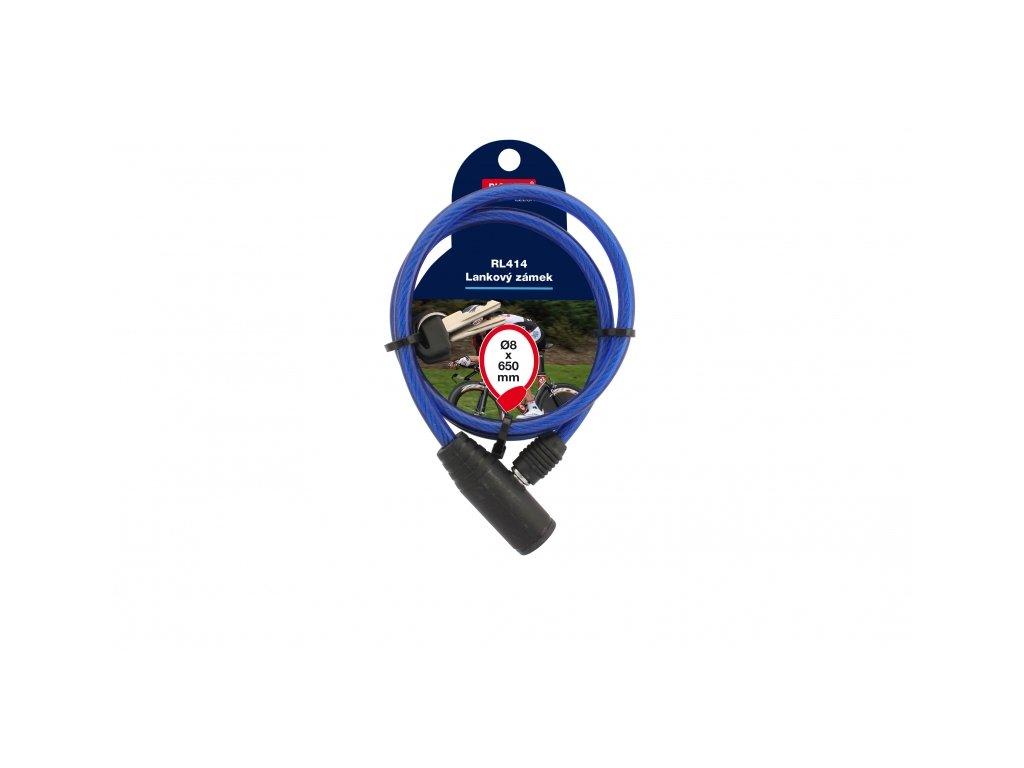 Lankový zámek RL414 - modrý